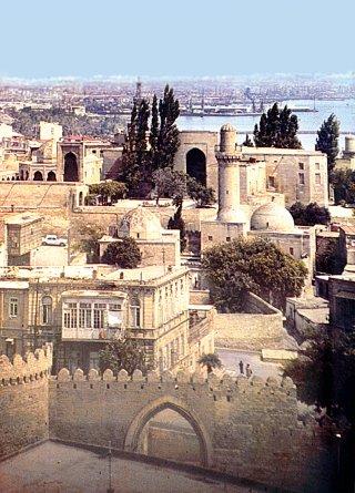 XII-XV. Şirvanşahlar Palace Complex, which was built between centuries - Baku / Azerbaijan