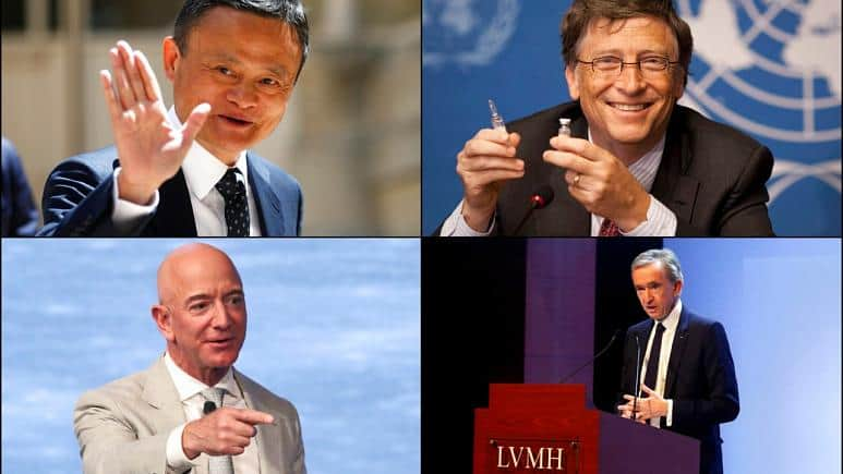 Dünya ekonomisi yüzde 3 küçüldü, zenginlerin serveti yüzde 9 arttı