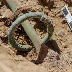 Van'da ejder başlı iki bilezik olan çocuk iskeleti bulundu