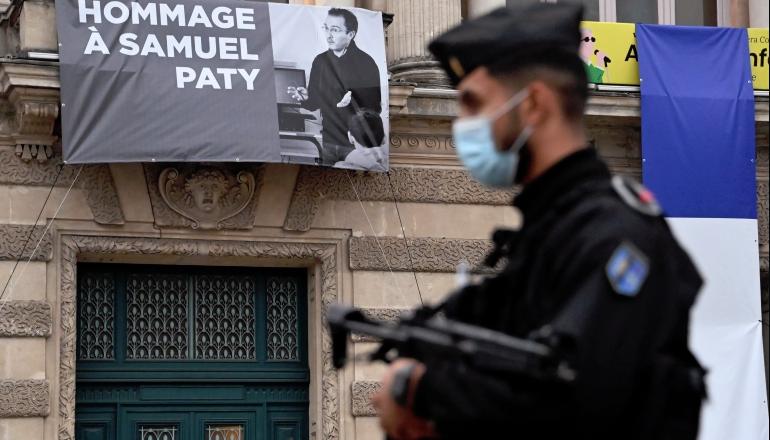 Öğretmenin öldürülmesinden sonra Fransız Müslümanlar yükselen İslamofobiden korkuyor