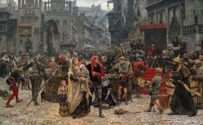 Ortaçağ Avrupa'sındaki bağırsak solucanlarının sağladığı epidemiyolojik bilgiler